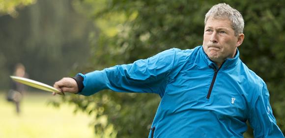 Auch DGA-Sportdirektor Wolfgang Kraus aus Trebur gehört dem Discgolf-Nationalteam 2016 an.