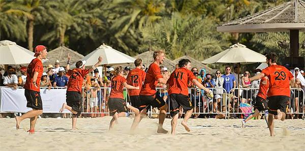 2015 wurde Deutschland in Dubai Mixed-Weltmeister.